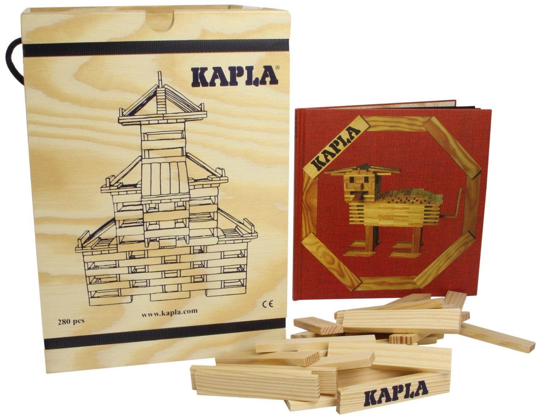 Kapla Holzbausteine als Weihnachtsgeschenk