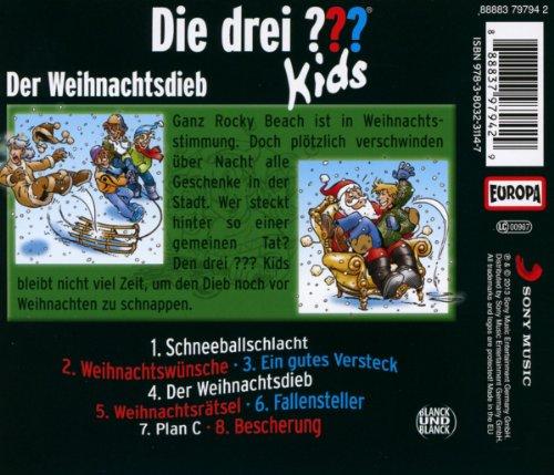 Die ??? Kids - Weihnachtshörspiel